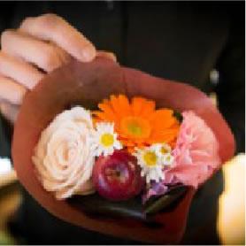 Sweet blossom flowers